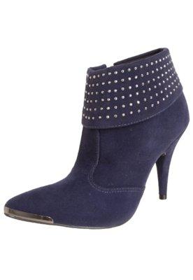 Ankle Boot Crysalis Dobra Hotfix Azul