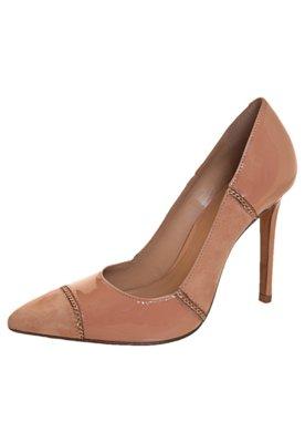 Sapato Scarpin My Shoes Correntes Nude