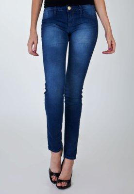 Calça Jeans Triton Jegging Plane Azul