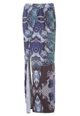 Saia Longa Diva Multicolorida - Espaço Fashion