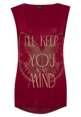 Blusa FiveBlu Keep You Mind Vermelha