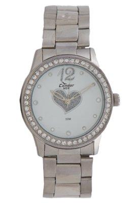 Relógio Condor KW26649B Prata