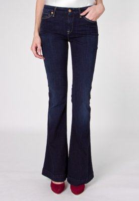 Calça Jeans 7 For All Mankind Jiselle Flare Azul