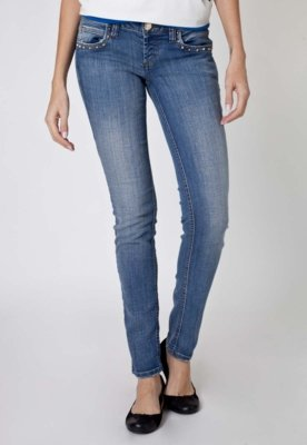 Calça Jeans Colcci Edna Skinny SPikes Azul