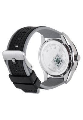 Relógio Puma Edge - S Prata/Preto
