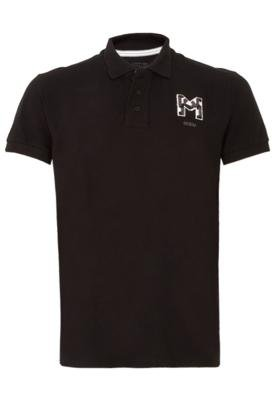 Camisa Polo M.Officer Since Preta - M. Officer