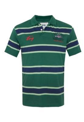Camisa Polo TNG Bordado Listras