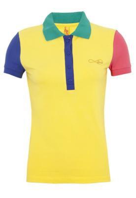 Camisa Polo Coca Cola Clothing Small Like Amarela