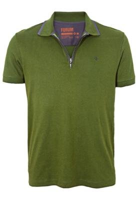Camisa Polo Forum Muscle States Verde
