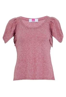 Blusa Pink Connection Pregas Style Vermelha