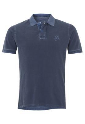 Camisa Polo Zapälla Bordado Azul