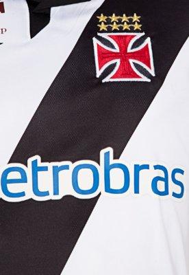 Camisa Polo Penalty Vasco II Oficial 2012 N° 10 Branca