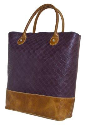 Bolsa Sacola Capodarte Style Roxa