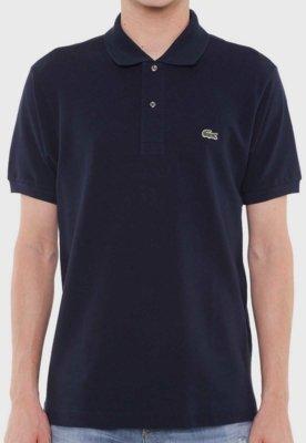 Camisa Polo Lacoste Live Azul