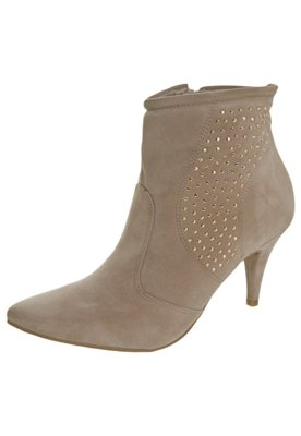 Ankle Boot Lateral Hotfix Marrom - Crysalis