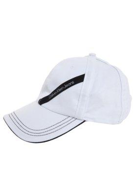Boné Calvin Klein Clássico Branco