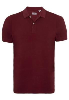 Camisa Polo Dockers Modern Vinho