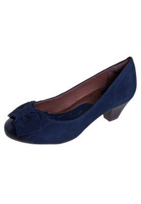 Sapato Scarpin Ramarim Total Comfort Biqueira Verniz Laço A...