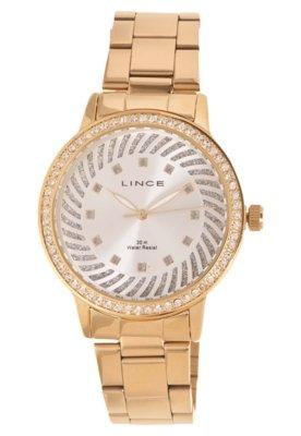 Relógio Lince LRG4181L S1KX Dourado