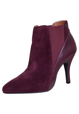 Ankle Boot Triton 2 Fivelas Vinho