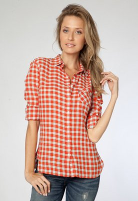 Camisa Levi's Brand Xadrez - Levis