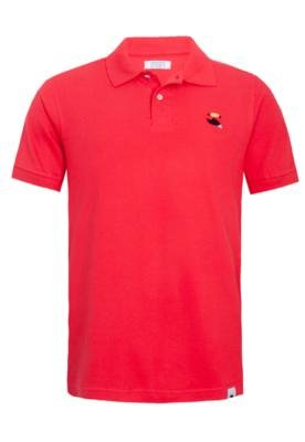Camisa Polo FiveBlu Basic Vermelha