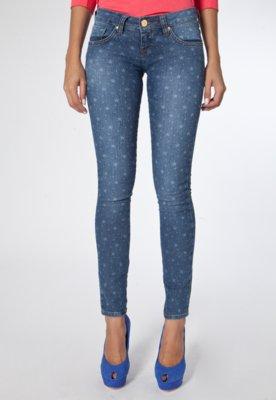 Calça Jeans Elástica Skinny Azul - Coca Cola Clothing