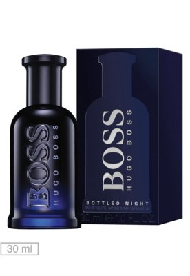 Eau de Toilette Boss Bottled Night 30ml - Perfume - Hugo Bos...