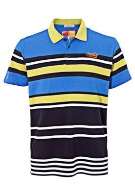 Camisa Polo Coca Cola Clothing Brasil Listra
