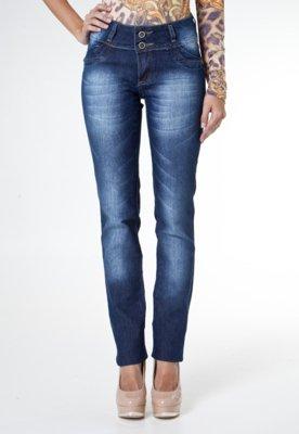 Calça Jeans Sawary Bootcut Urban Azul