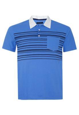 Camisa Polo Life Azul - FiveBlu