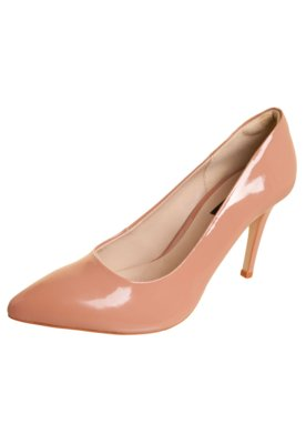 Sapato Scarpin Anna Flynn Liso Rosa