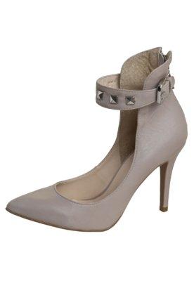 Sapato Scarpin Tachas Nude - Anamac