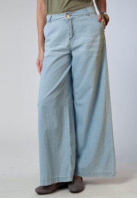 Calça Jeans Ampla Azul - Cantão