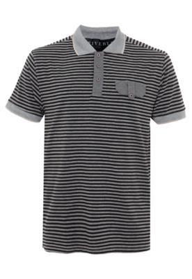 Camisa Polo FiveBlu Lapela Listrada