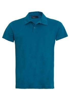 Camisa Polo Pier Nine Once Azul