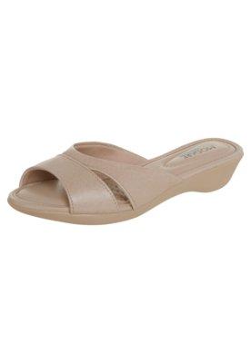 Sandália Modare Tamanco Conforto Bege