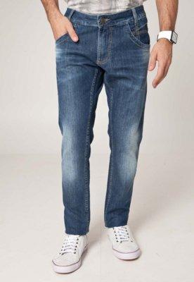 Calça Jeans Sawary Reta Winter Azul