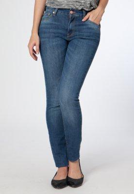 Calça Jeans Slim Unic Azul - MNG Barcelona
