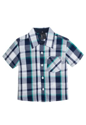 Camisa Hommer Dog Xadrez