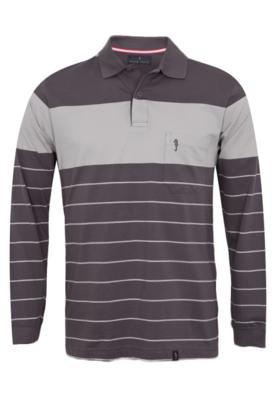 Camisa Polo Pier Nine Modern Cinza
