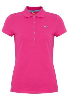 Camisa Polo Puma Ess Basic Rosa