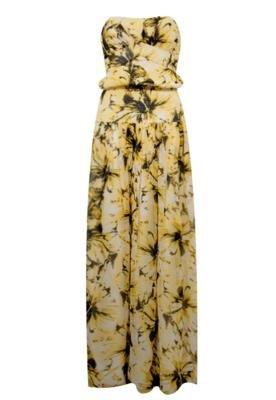 Vestido Seda Talie NK Rachel Amarelo