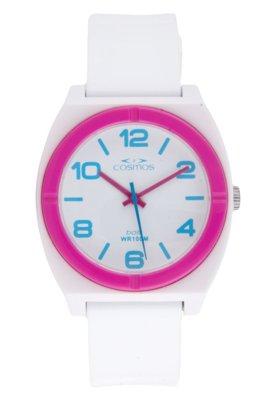 Relógio Cosmos OS48676B Branco
