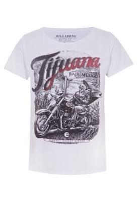 Camiseta Billabong Fashion Tijuana Branca