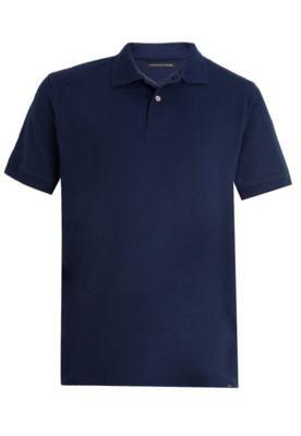 Camisa Polo Lucca Salvatore City Azul