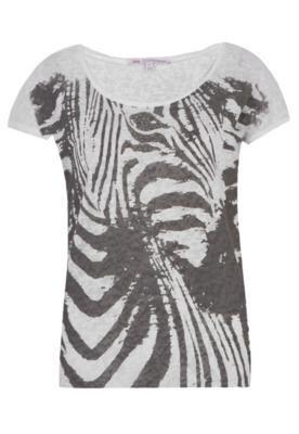 Blusa TNG Zebra Branca
