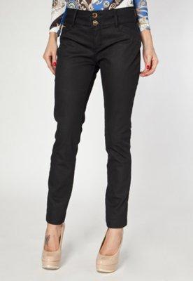 Calça Jeans Lança Perfume Skinny Very Preta