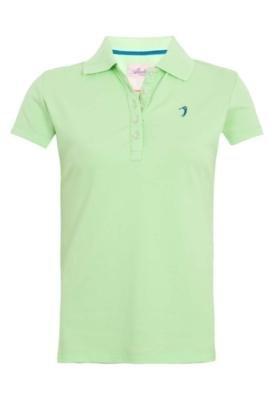 Camisa Polo Aleatory Bordado Verde