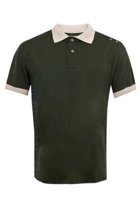 Camisa Polo [R] One Stripes Camuflada Verde - [R]ONE by Five...